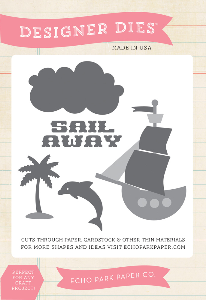 PL89045 Sail Away Die