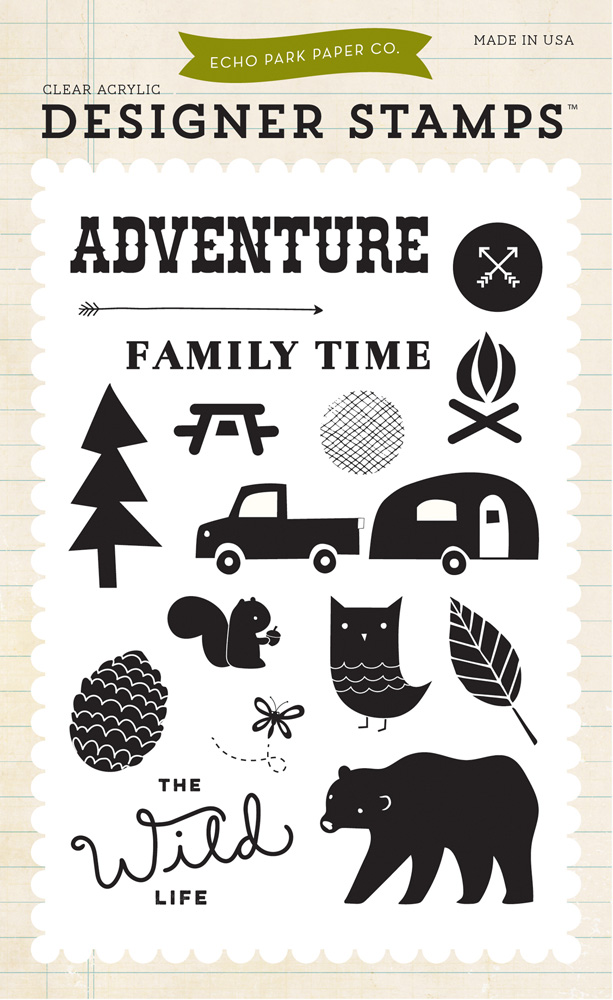 WL88034 Adventure Time 4x6 Stamp