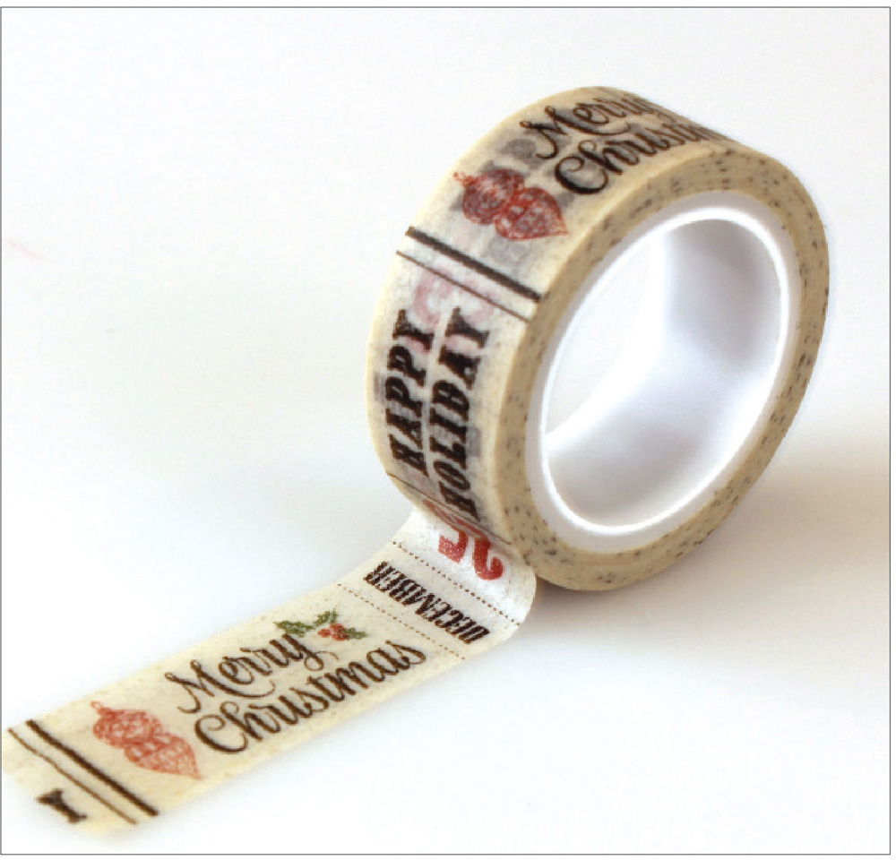 CB-CT33023 Words Decorative Tape