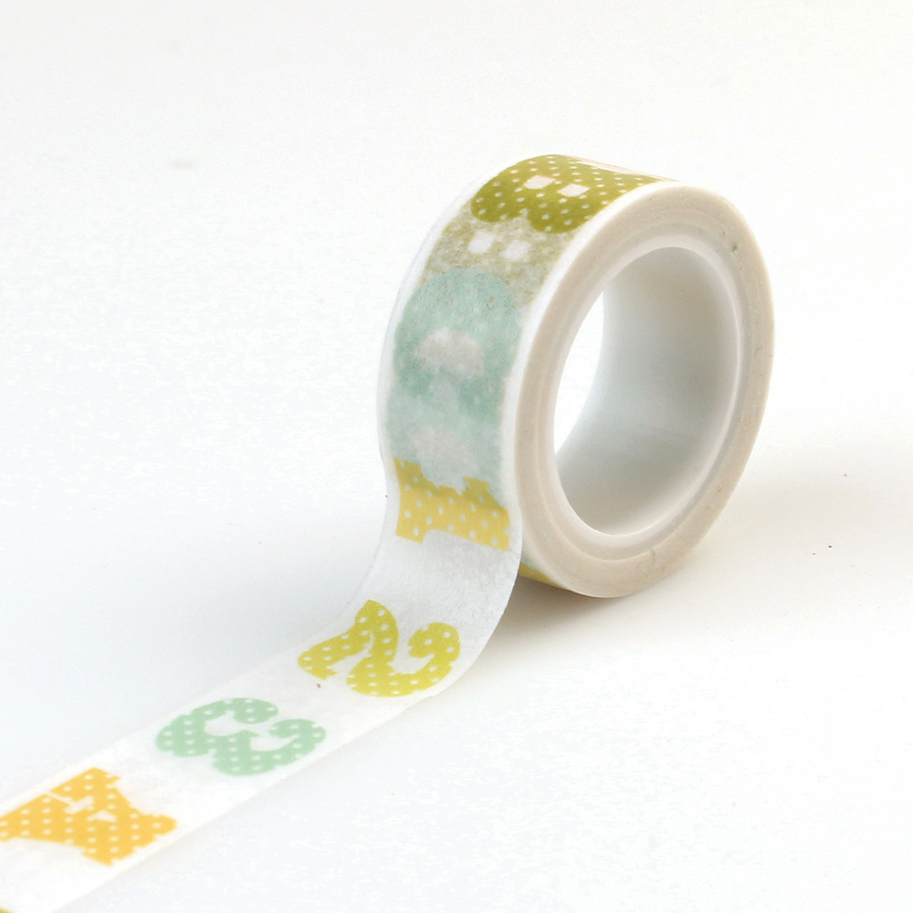 CBIB50027 Decorative Tape ABC123