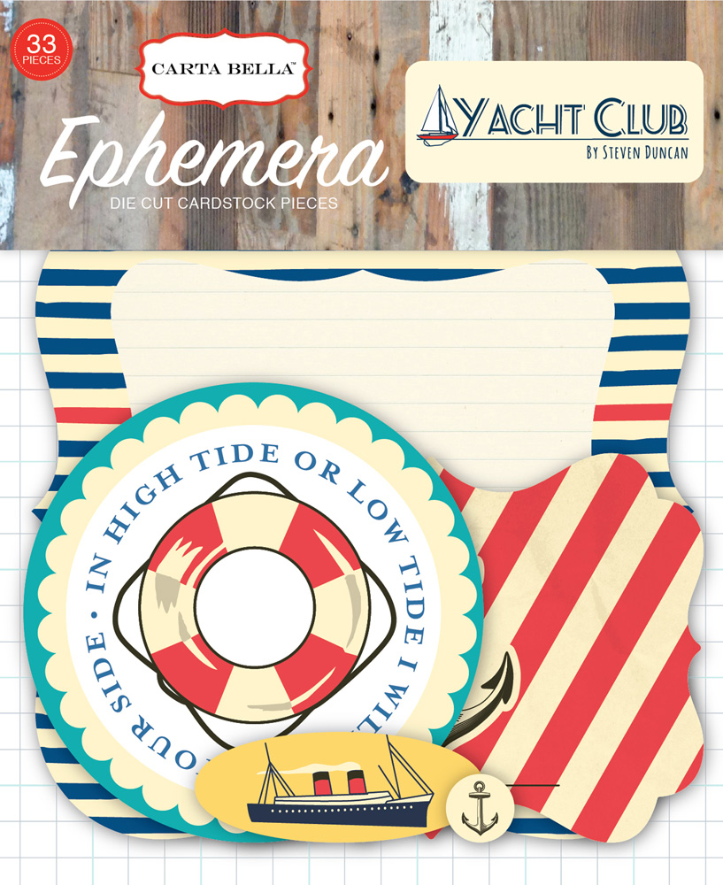 CBYC52024 Yacht Club Ephemera