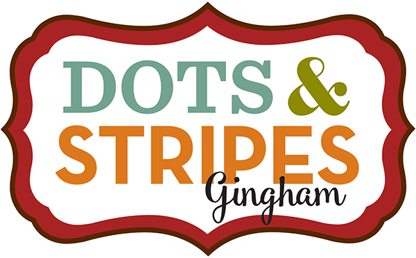 Dots & Stripes Autumn Gingham