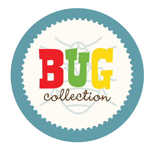 bug collection scrapbook paper
