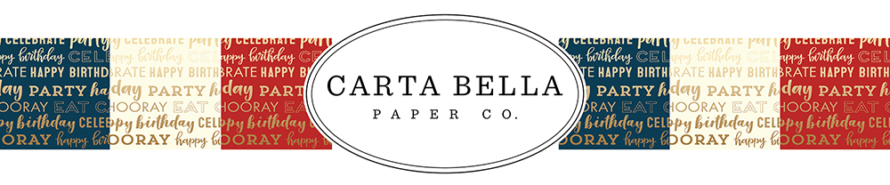 Carta Bella Happy Birthday Foil